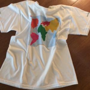 continent t-shirt